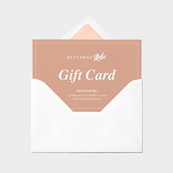Make-up Consultation Gift Card (Makeup Lesson)
