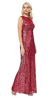 Jenny Packham debenhams maxi carrie dress
