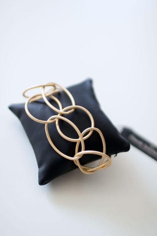 Dansk Smykkekunst Tempeste Bracelet Gold Plating
