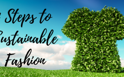 4 Steps To Sustainable Fashion